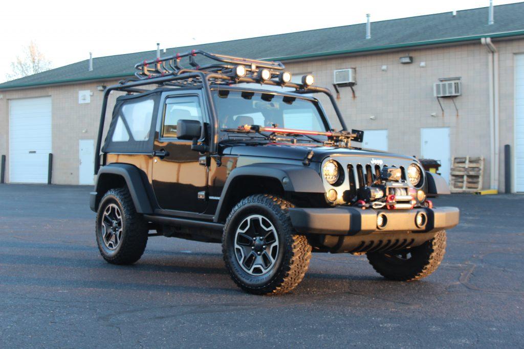 Polished Jeep